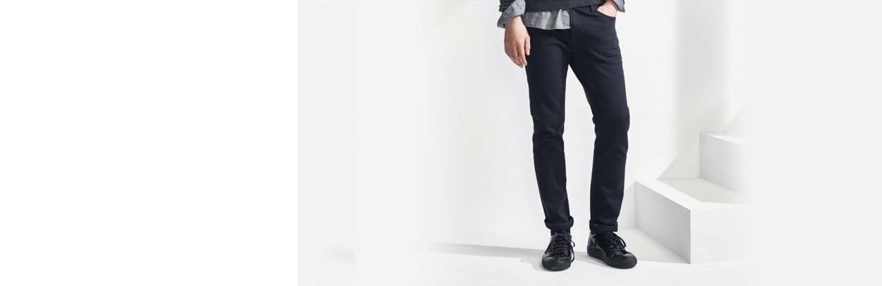 Skinny Fit Tapered Jeans Air