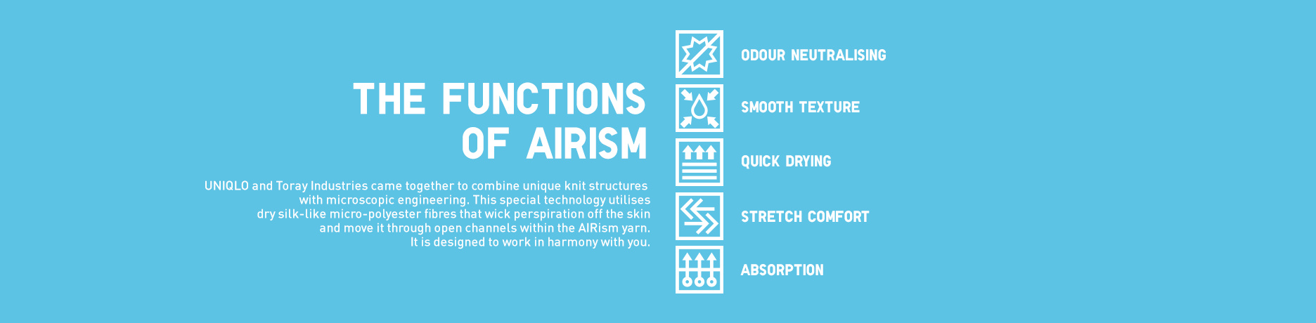 Functions of AIRism
