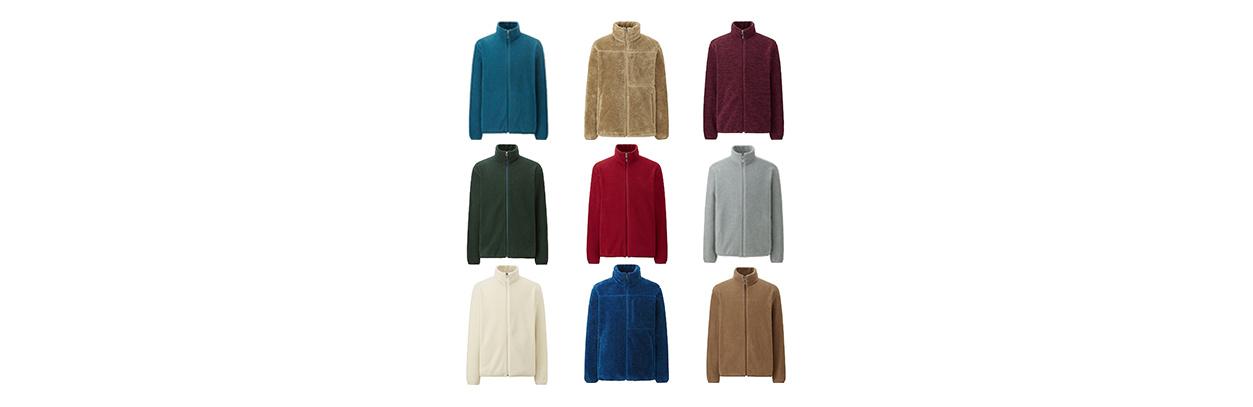 Fleece Farbenspektrum