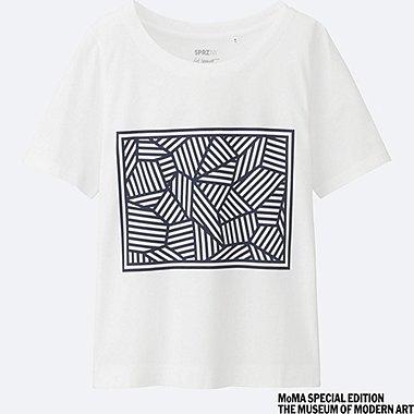 DAMEN T-Shirt Bedruckt SPRZ NY (Sol LeWitt)