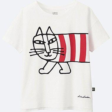 KINDER T-Shirt bedruckt Lisa Larson