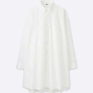 DAMEN Bluse Extra Feine Baumwolle