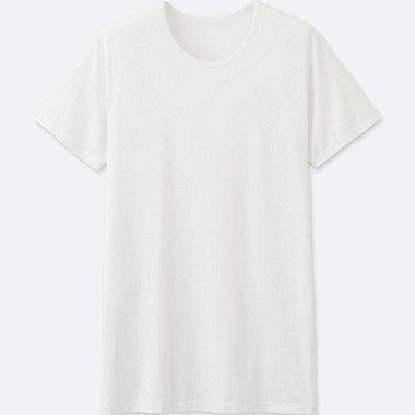 HERREN AIRism T-Shirt Rundhals Kurzarm