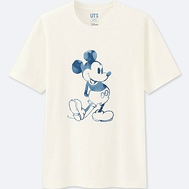 T-Shirt Manches Courtes MICKEY BLUE HOMME