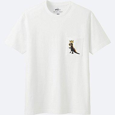 HERREN T-Shirt Bedruckt SPRZ NY (Jean-Michel Basquiat)