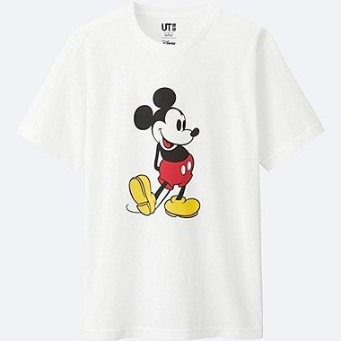 HERREN T-Shirt Bedruckt Mickey Stands