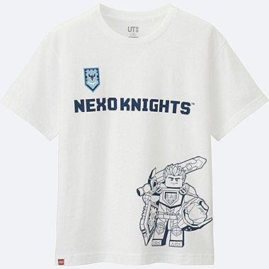 KINDER T-Shirt Bedruckt LEGO®NEXO Knights