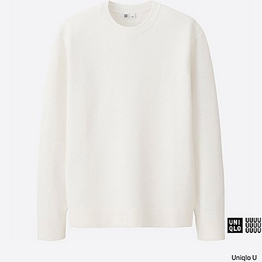 MEN Uniqlo U Milano Ribbed Crew Neck Sweater