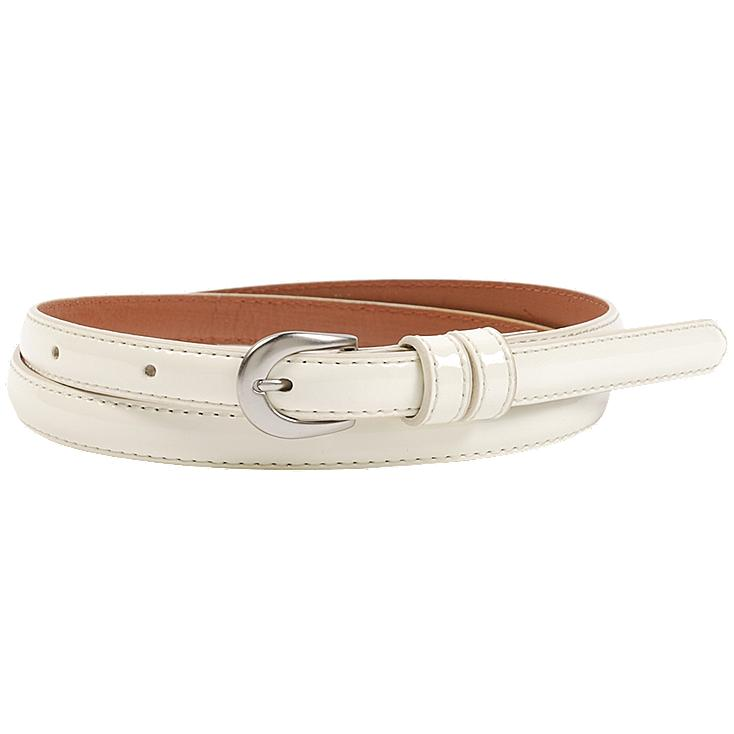 WOMEN ENAMEL COLOR BELT