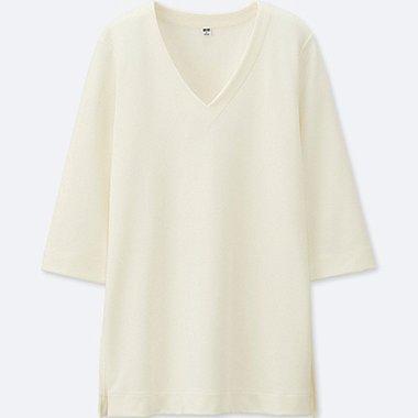 DAMEN T-Shirt 3/4 Arm