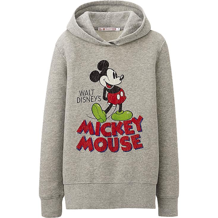 WOMEN Disney Project SWEAT LONG SLEEVE HOODIE