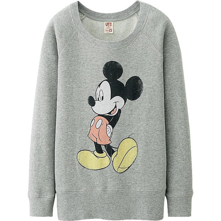 WOMEN Disney Project SWEAT LONG SLEEVE SHIRT