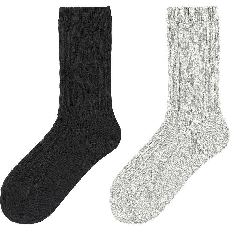 Uniqlo Heattech Socks Next Graywomen Heattech Socks
