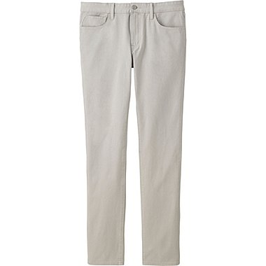 MEN Stretch Skinny Fit Tapered Colour Jeans