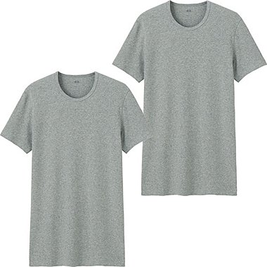 HERREN T-Shirt Rundhals Aus Supima Cotton 2 Pack