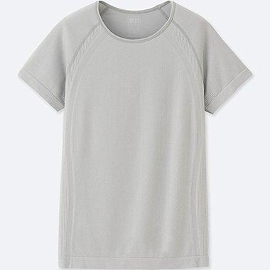 T-Shirt AIRism Manches Courtes FEMME