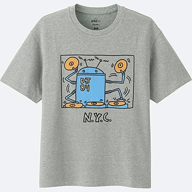 T-Shirt Manches Courtes SPRZ NY (Keith Haring) HOMME