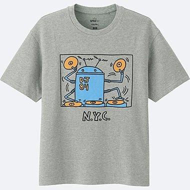HERREN T-Shirt Bedruckt SPRZ NY (Keith Haring)