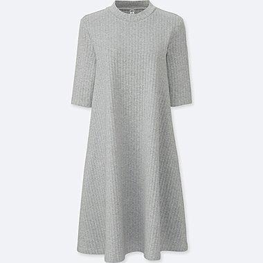 Robe Coton Côtelé Évasée FEMME