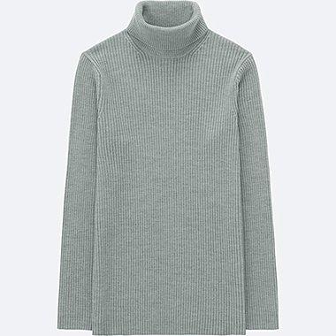 Men Ribbed Turtleneck Long Sleeve Sweater Online Exclusive Uniqlo Us