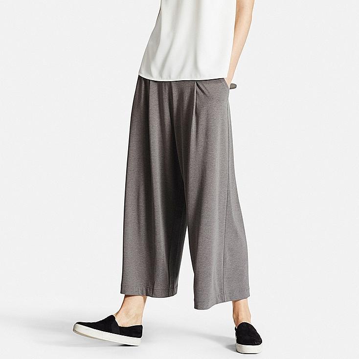 pantalon large femme uniqlo. Black Bedroom Furniture Sets. Home Design Ideas