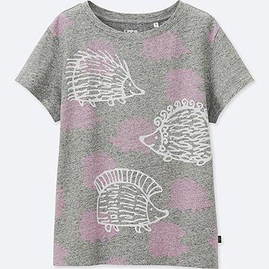 DAMEN T-Shirt Bedruckt Lisa Larson