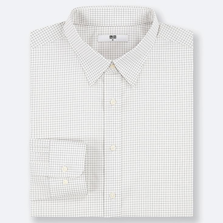Uniqlo - EASY CARE CHECKED REGULAR FIT SHIRT (REGULAR COLLAR) - 1