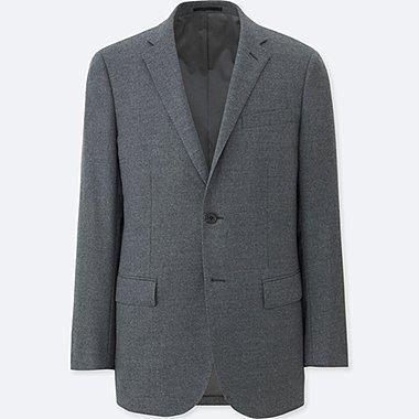 HERREN Blazer Stretch Slim Fit Aus Wolle