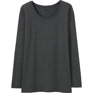 HEATTECH T-Shirt Col Rond Manches Longues FEMME