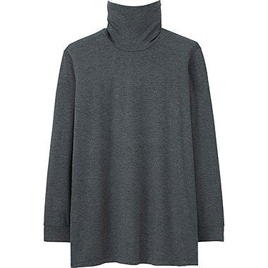 HEATTECH T-Shirt Col Roulé Manches Longues HOMME
