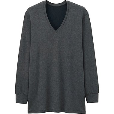 HEATTECH T-Shirt Extra Warm Col V HOMME