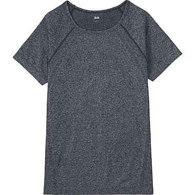 T-shirt Dry Sans Coutures Col Rond FEMME