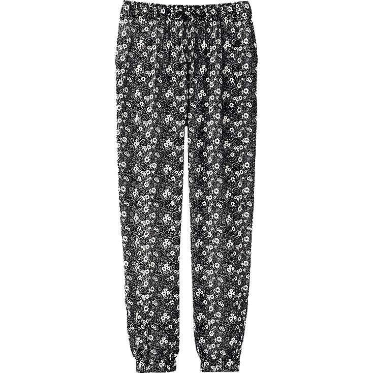 WOMEN DRAPE PRINTED BOTTOMS(FLOWER)