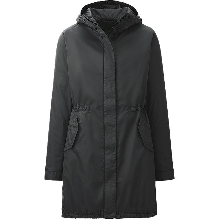 WOMEN ZIP UP LONG PARKA