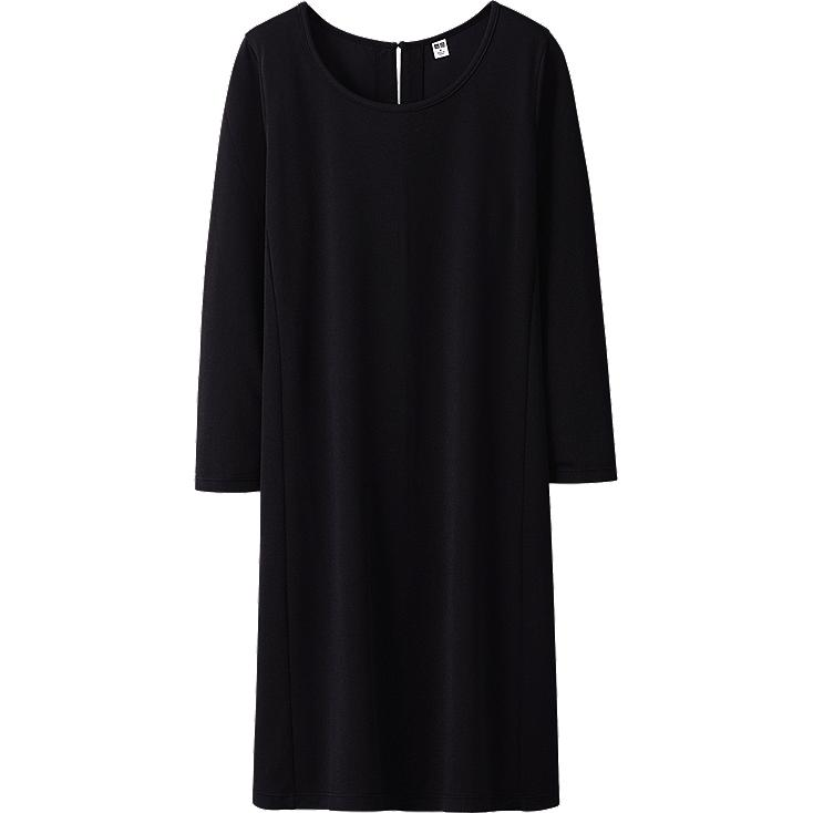 WOMEN LIGHT 3/4 SLEEVE DRESS