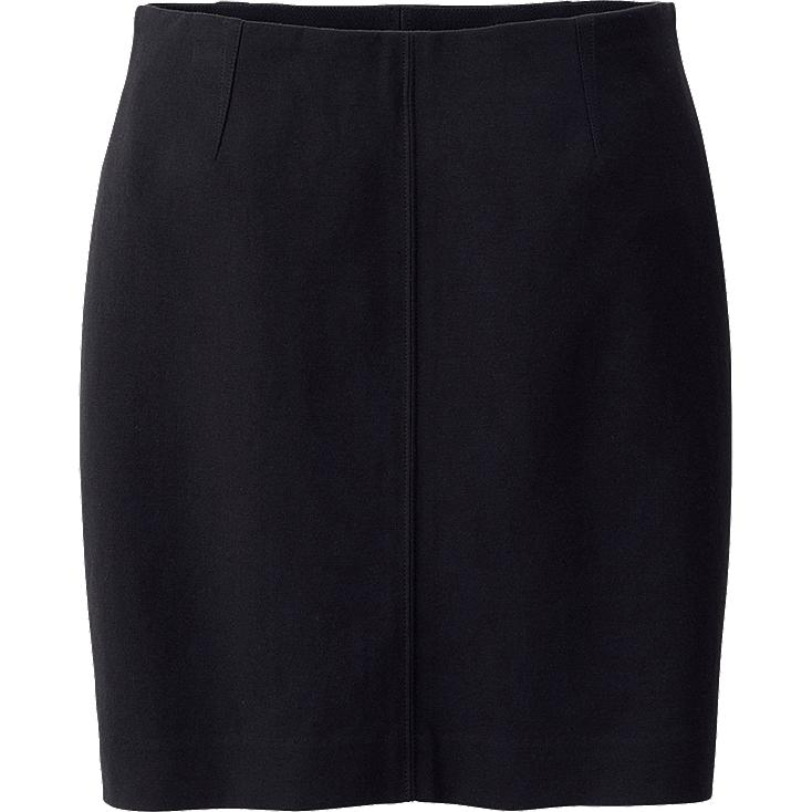 WOMEN PONTE PENCIL MINI SKIRT