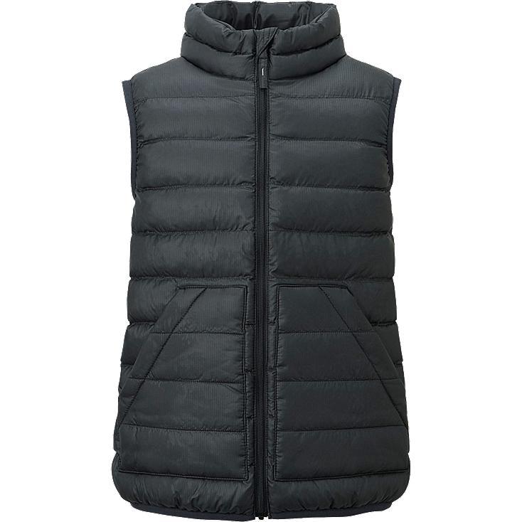 veste sans manches warm padded gar on uniqlo. Black Bedroom Furniture Sets. Home Design Ideas
