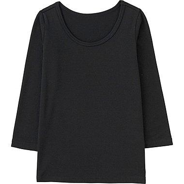 HEATTECH T-Shirt Col U BÉBÉ