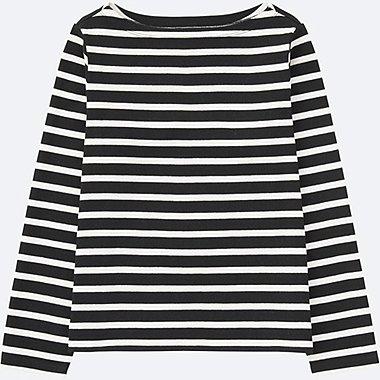 T-Shirt Marinière Col Bateau FEMME