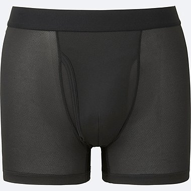 Long see through underwear short boxer brief