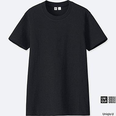 T-shirt col rond manches courtes U FEMME
