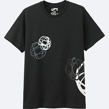 HERREN T-Shirt Bedruckt Expressionist FUTURA