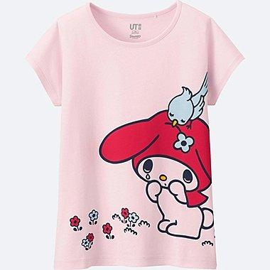 T-Shirt Graphique SANRIO Manches Courtes  FILLE