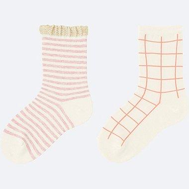 Chaussettes lot de 2 FILLE