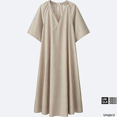 Robe Oversized imprimée en coton U FEMME