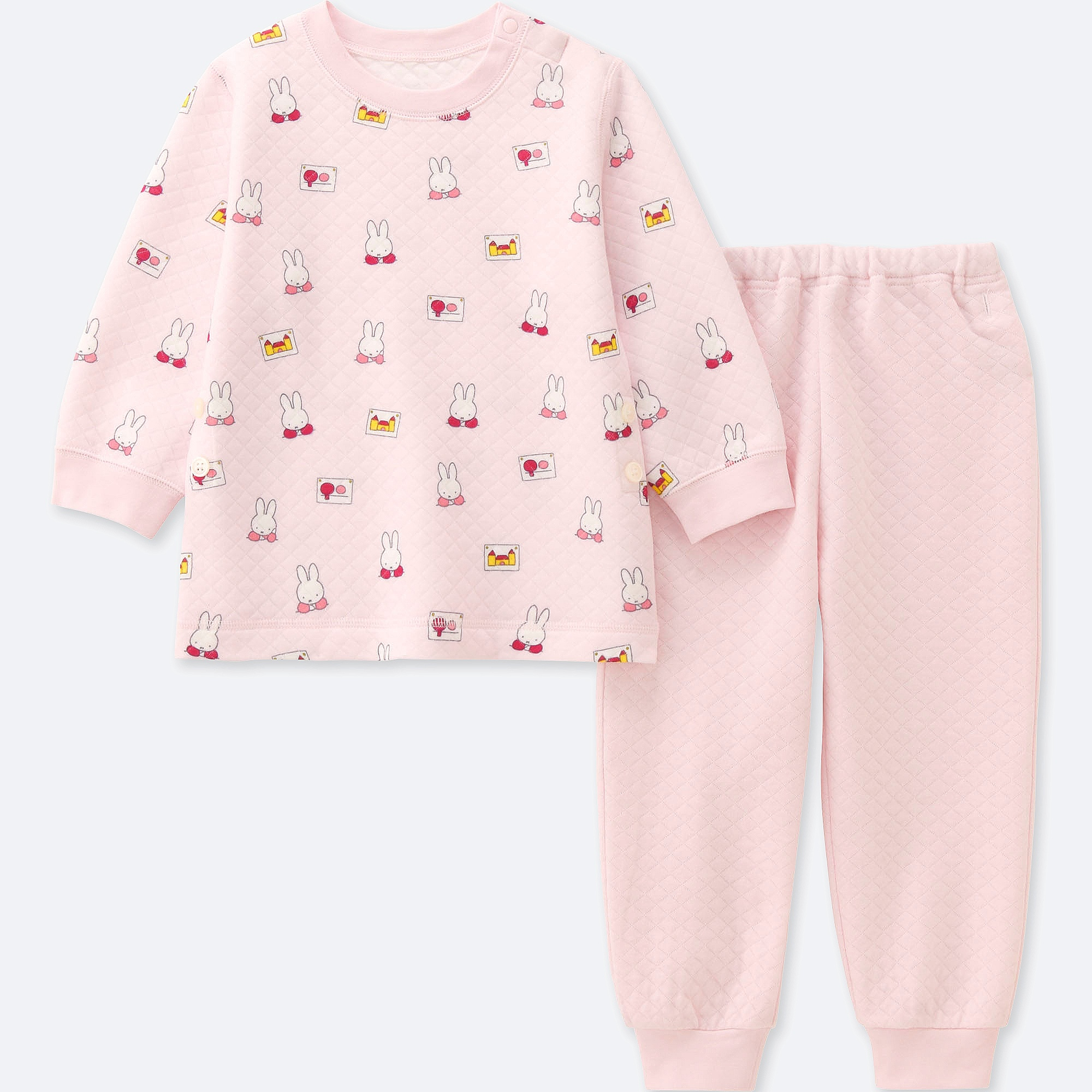 17a41f648 Uniqlo BABIES TODDLER QUILTED PYJAMAS LONG SLEEVE THE PICTURE BOOK ...