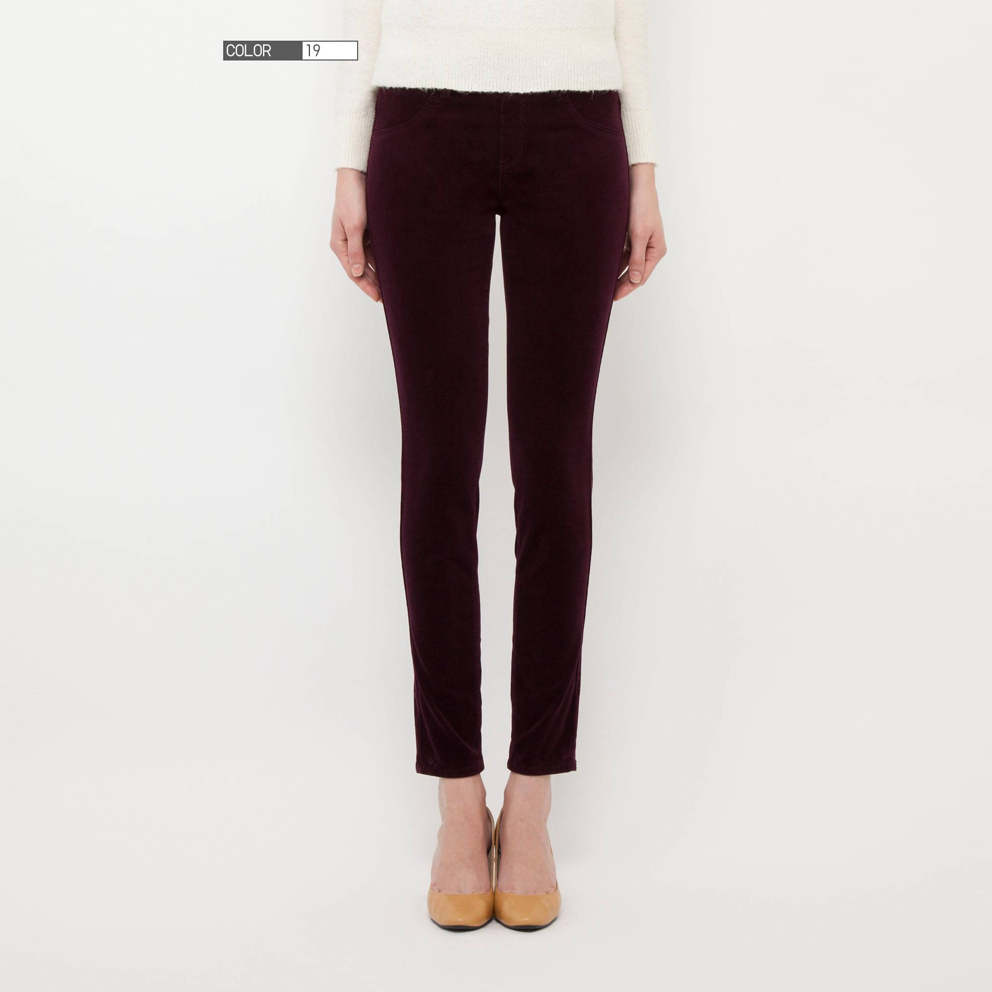 Brown Corduroy Pants For Women