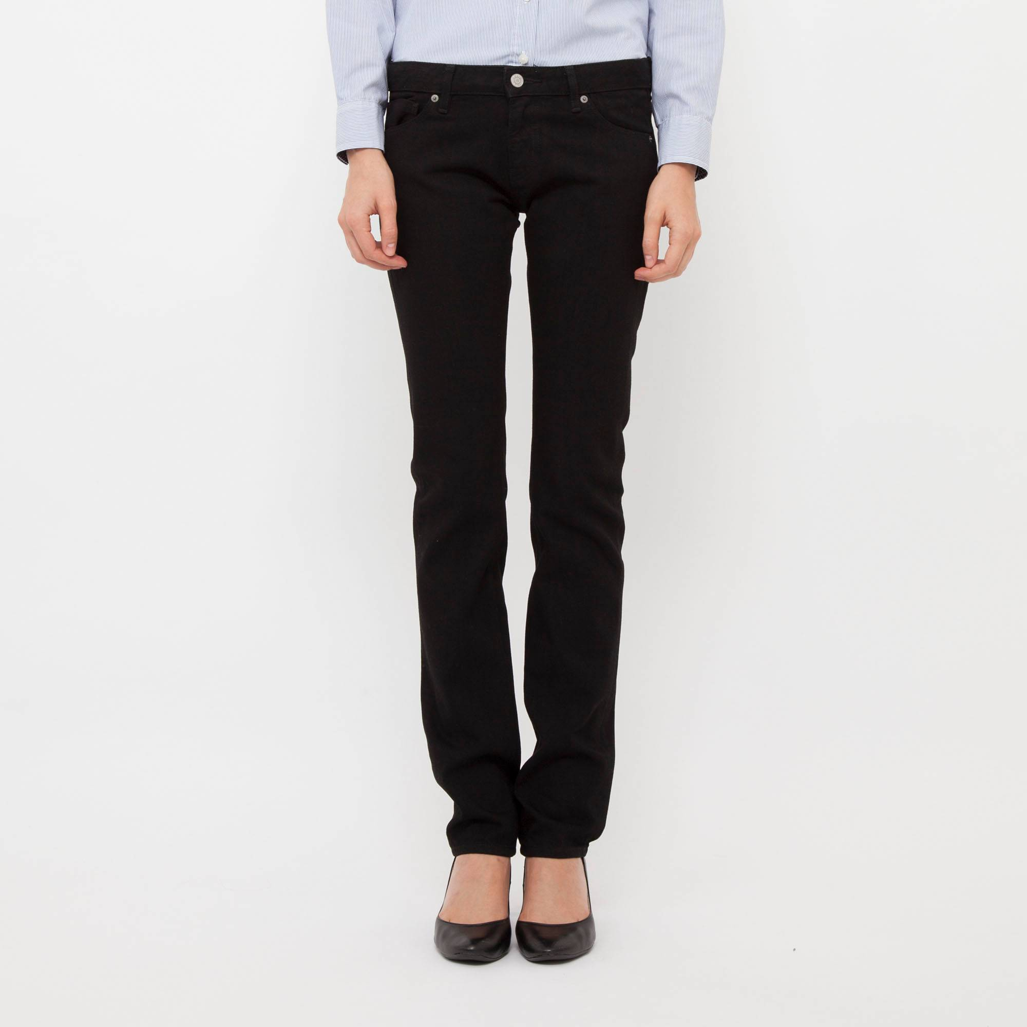 Womens Navy Jeans