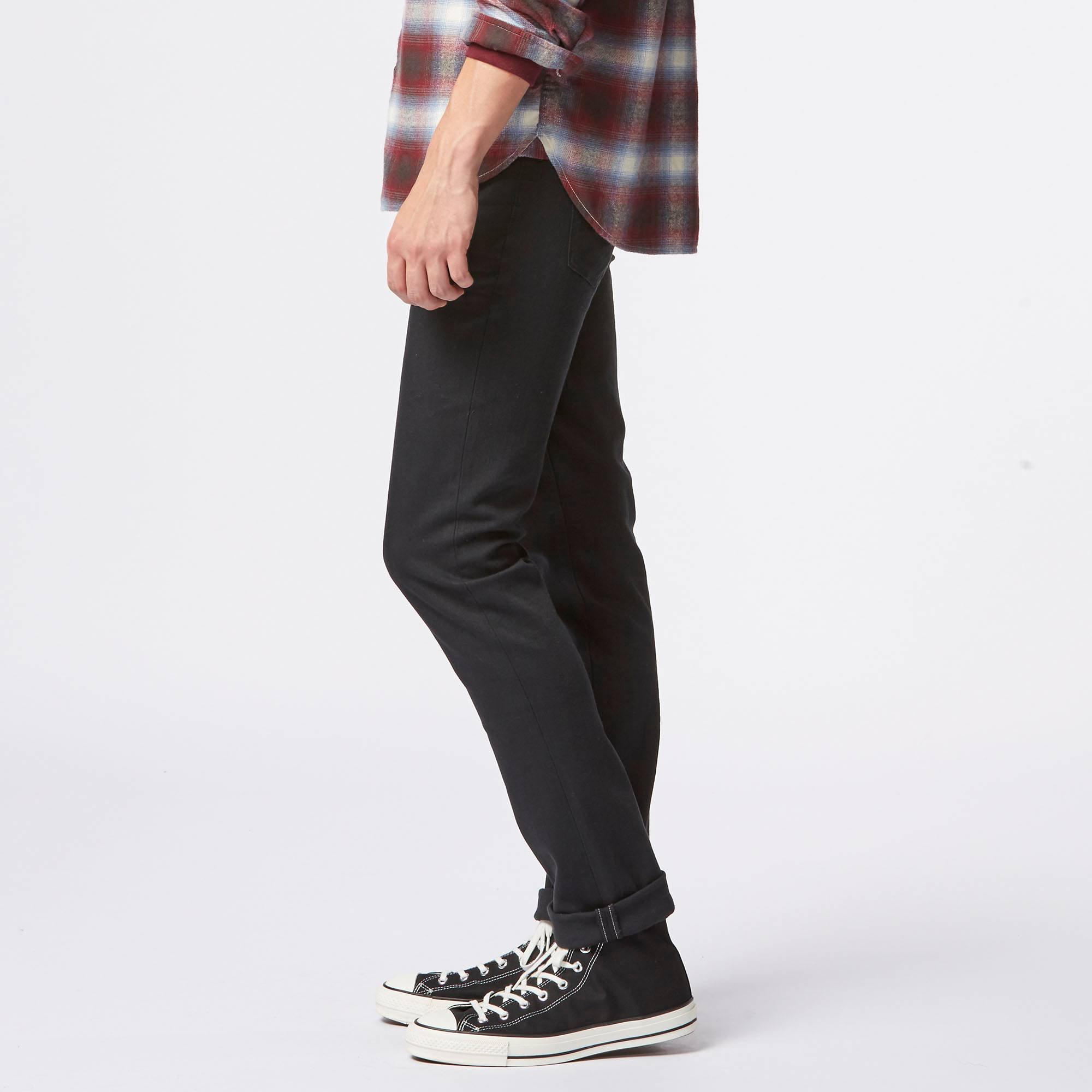 Mens Tapered Skinny Jeans - Jeans Am