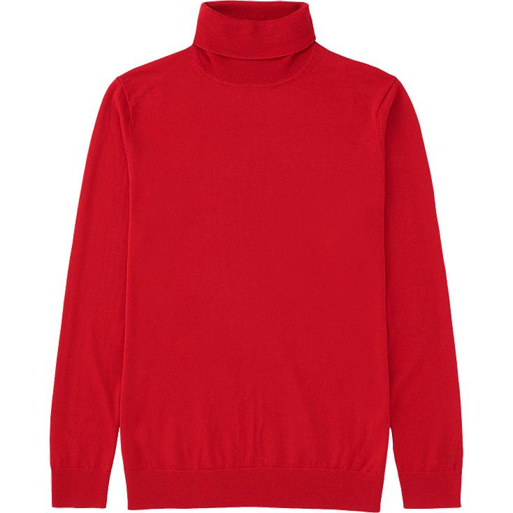MEN EXTRA FINE MERINO TURTLENECK SWEATER